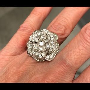 Rhinestone/CZ Ring (Banana Republic)